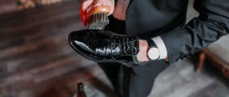Уход за лакированной и гладкой обувью