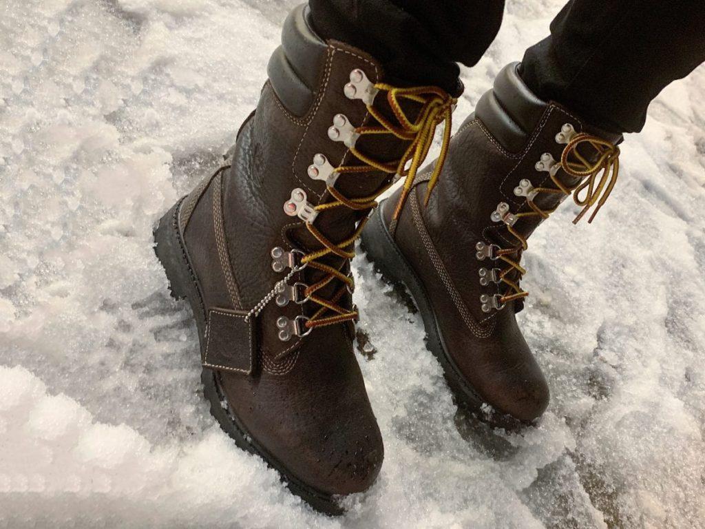 Зимний уход за кожаной обувью-min